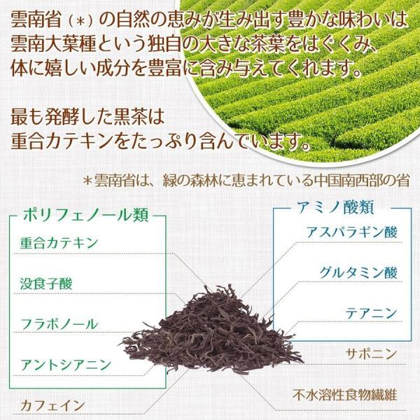 トライアル価格 超発酵ダイエット茶(1袋5個入り)プーアル茶の熟茶と呼ばれる発酵茶|tealab|08