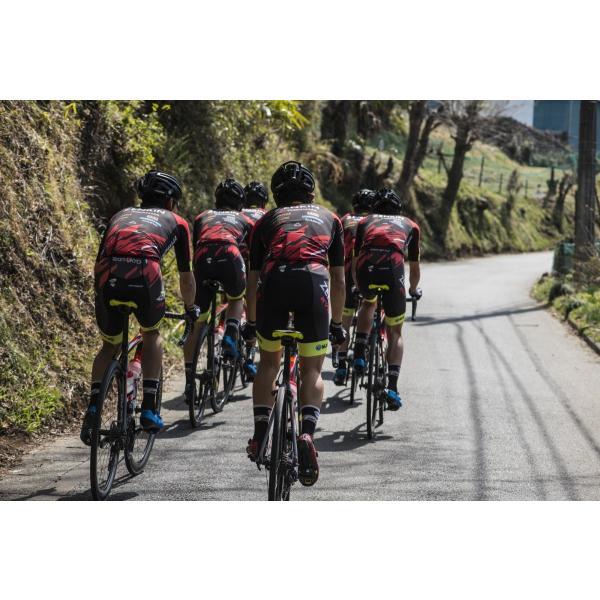 サイクルジャージ 自転車 チーム右京 ロードレース 2018モデル TEAM UKYO 半袖 プロ仕様 送料無料 メール便不可|teamukyo|10