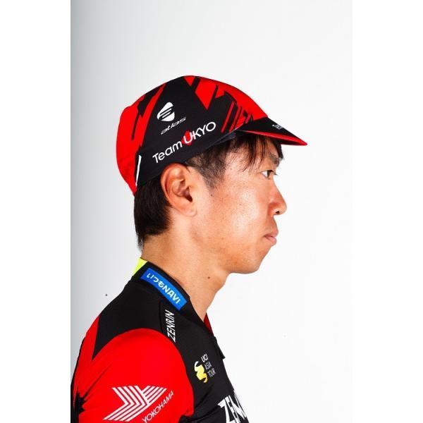 サイクルキャップ チーム右京 2018モデル TeamUKYO 自転車 メール便OK(2個まで)|teamukyo|05
