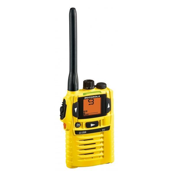 防水トランシーバー CL120A モトローラ インカム 無線機 tech21 06