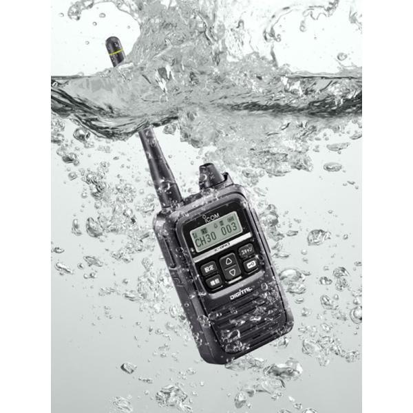 防災に デジタル簡易無線 IC-DPR3 アイコム iCOM ICOM 防水 1W インカム 無線機 デジタル無線機 プレゼント|tech21|04