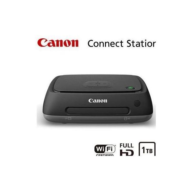 キヤノン フォトストレージ 1TB HDD内蔵 Connect Station CS100納期:お取寄せ[10000円アマゾンギフト付]