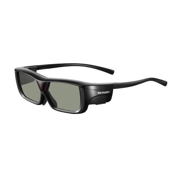 【10セット】 シャープ AQUOS専用アクティブシャッターメガネ (3Dメガネ) ブラック系 AN-3DG20-…[10000円キャッシュバック]