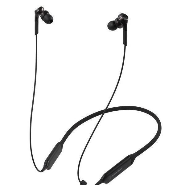 【5セット】 オーディオテクニカ Bluetooth対応 ダイナミック密閉型カナルイヤホン(ブラック) audio…[10000円アマゾンギフト付]