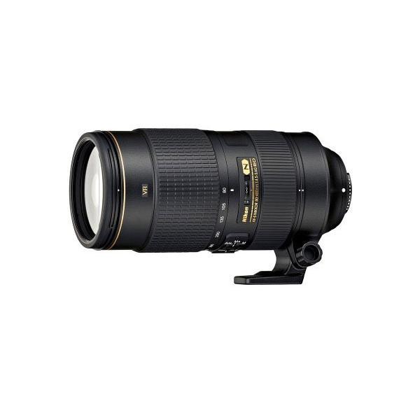 【Nikon】AF-S NIKKOR 80-400mm f/4.5-5.6G ED VR 望遠ズームレンズ《付属品あり》ニコン ニッコール VR付き5倍望遠