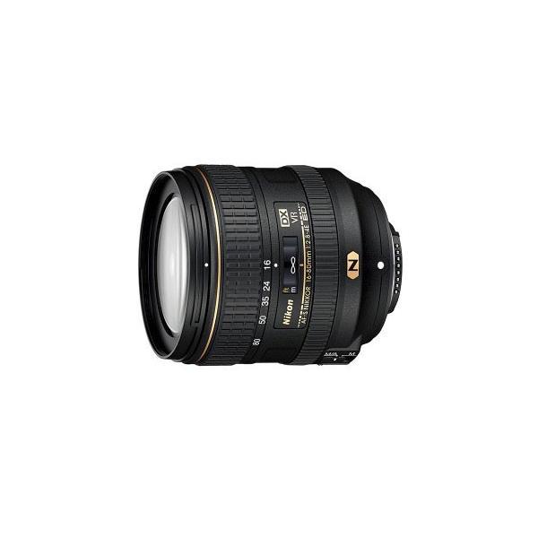 【Nikon】AF-S DX NIKKOR 16-80mm f/2.8-4E ED VR DX常用標準ズームレンズ《付属品あり》ニコン ニッコール 5倍ズーム 広角側開放F値2.8