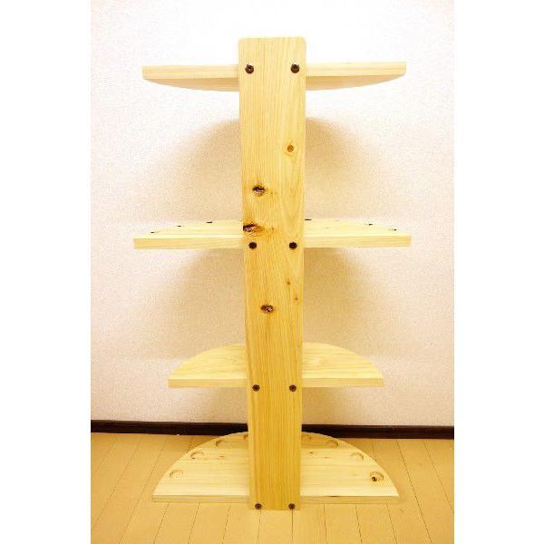 【標準・1ピース用】 RS-1 9本用 ヒノキ無垢材 【家具職人の作ったロッドスタンド】|tedukurikaguueda|04