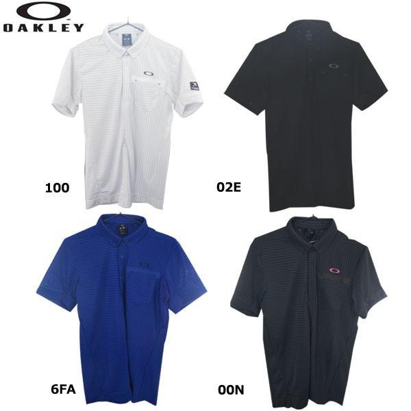 オークリー 434392JP SKULL INCONSTANT CROSS SHIRTS スカル 半袖シャツ 2019 ゴルフポロシャツ