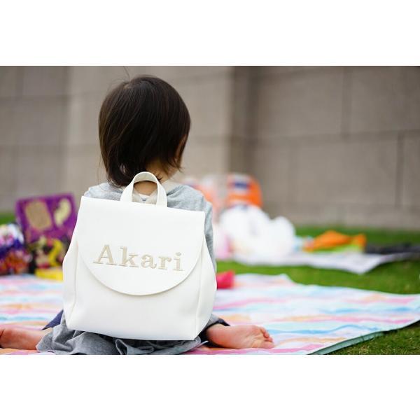 名入れベビーリュック「ARUKO」 出産祝い 1歳誕生日 プレゼント ギフト 一升餅 名前入り イニシャル|tees-factory|08