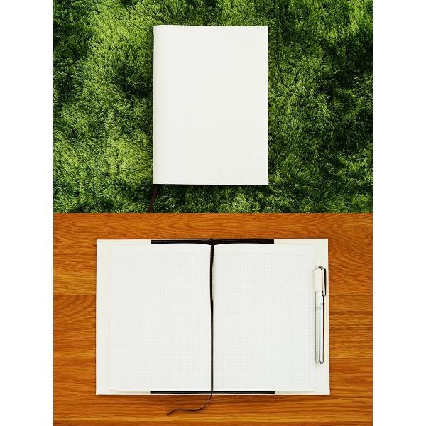 ノートカバー 手帳カバー「kanon」【送料無料】【名入れ可 A5 B5 名入れ可 手帳カバー 革 おしゃれ かわいい シンプル 2冊 リング】|tees-factory|02