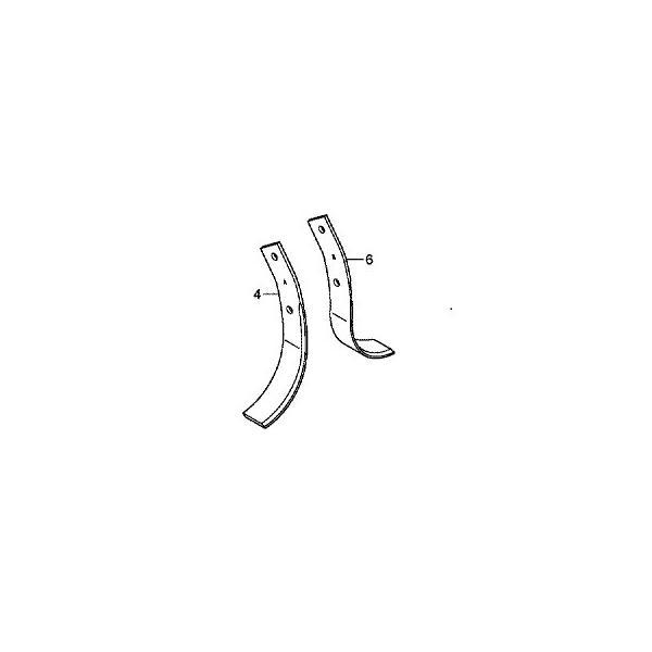 ホンダ HONDA   純正 耕運機 耕うん機 標準 フレンチ爪  タインキット 06722-733-J00 対応機種:F310、F401〔〜10145844K/KC、〜1022374