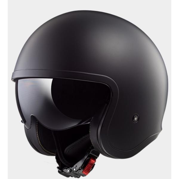 LS2 エルエスツー   国内正規品 SG認定 インナーバイザー付 ジェットヘルメット SPITFIRE スピリットファイヤ  ソリッドカラータイプ レトロ  レト|teito-shopping