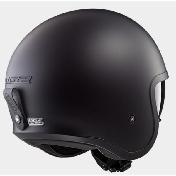 LS2 エルエスツー   国内正規品 SG認定 インナーバイザー付 ジェットヘルメット SPITFIRE スピリットファイヤ  ソリッドカラータイプ レトロ  レト|teito-shopping|03