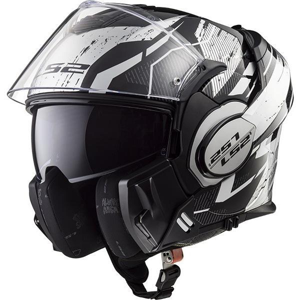 送料無料  LS2 エルエスツー   SG認証 システムヘルメット VALIANT バリアント 日本正規品 S-XXL グラフィックモデル 全3色 14|teito-shopping|02