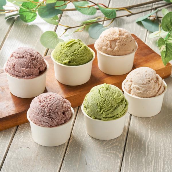 低糖質 スイーツ アイスクリーム ジェラート 和風 3種セット 砂糖不使用 ダイエット 糖質オフ 詰め合わせ