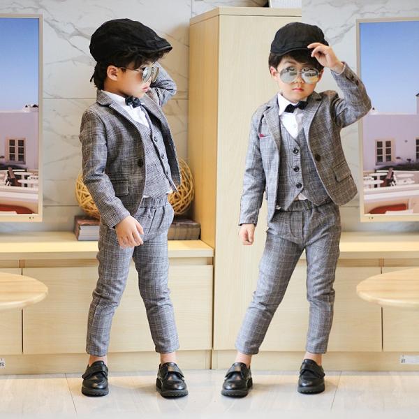 f9572ab1b5448 子供 スーツ 男の子 フォーマル 3点セット タキシード 子供服 キッズ 入学式 入園式 卒 ...