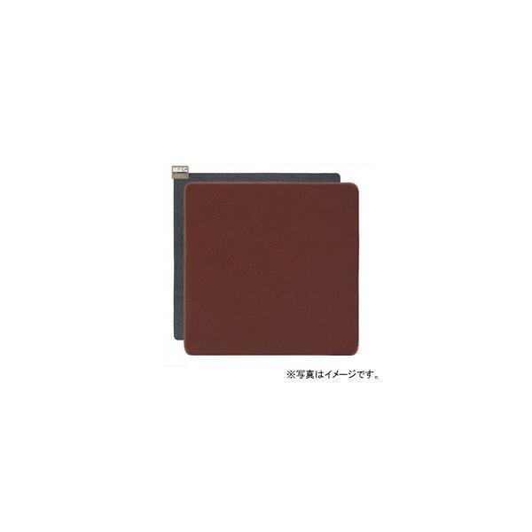 ホットカーペット(電気カーペット) 着せ替えカーペット セットタイプ 2畳相当 (ブラウン)