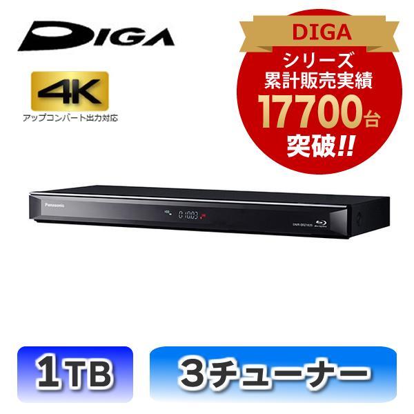 ブルーレイレコーダー DIGA 1TB HDD搭載 3チューナー パナソニック DMR-BRZ1020★|telaffy