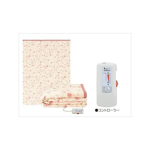 電子コントロール毛布 掛・敷両用タイプ Lサイズ 約188x140cm
