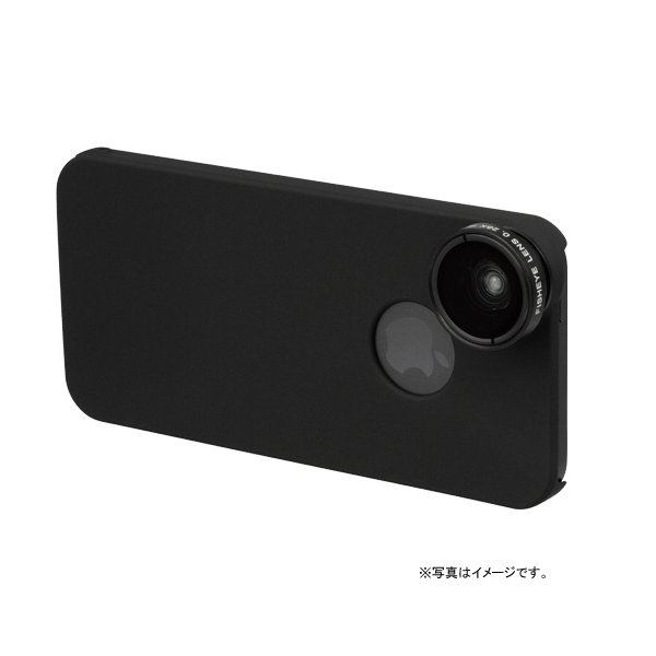 iPhone 5用魚眼&マクロレンズキット ブラック PRiNCETON (プリンストン) PIP-CK5FB