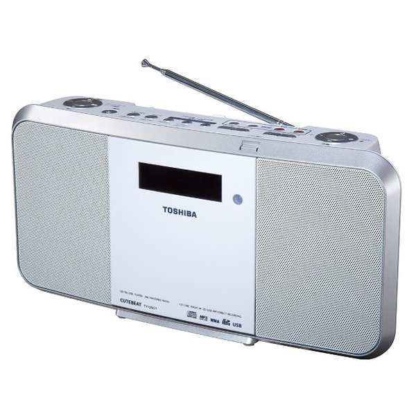 SD/USB/CDラジオ(ホワイト) TOSHIBA (東芝) TY-CRX71-W