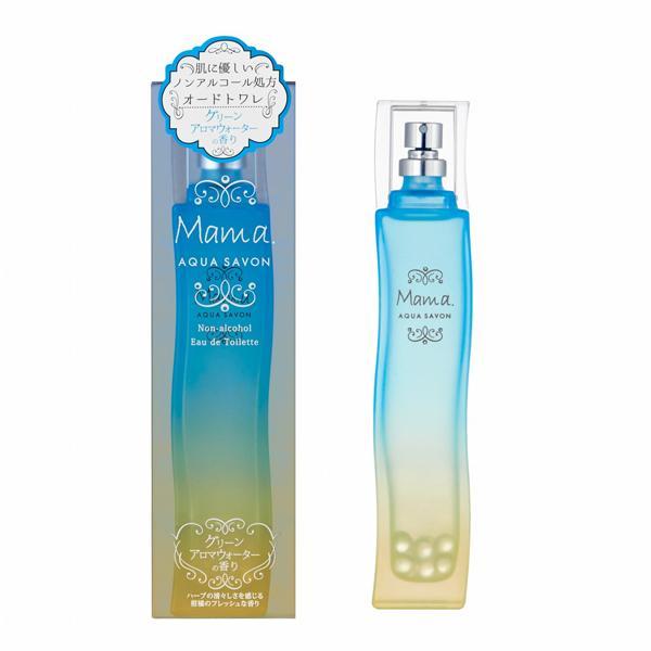 AQUA SAVON ママ アクアシャボン グリーンアロマウォーターの香り EDT・SP 80ml 香水 フレグランス|telemedia