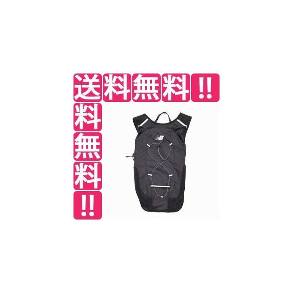 ニューバランスNEWBALANCEランニングバックパック10L カラー:ブラック  サイズ:W26×D10×H45cm(10L)
