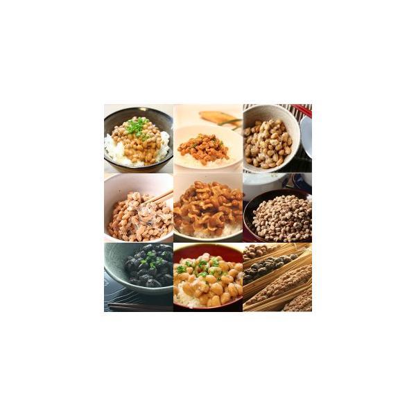 「偕楽セット」極小粒、小粒すずまる、大粒たちながは、黒豆ひかりぐろ、そぼろ、ほし納豆を詰合せ。 〜創業100余年 水戸納豆の老舗「水戸元祖 天狗納豆」〜