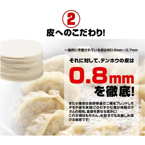 餃子 肉餃子 総重量1kg超|tenhoo|04
