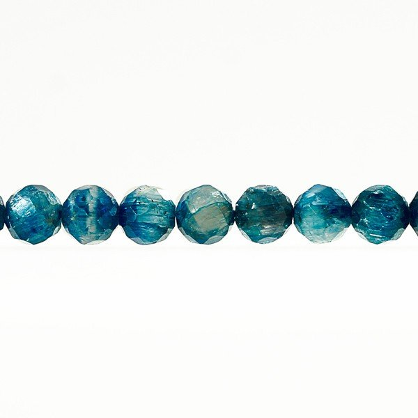 <ラウンドカット> カイヤナイト 6mm 一連 天然石 パワーストーン 送料無料 material