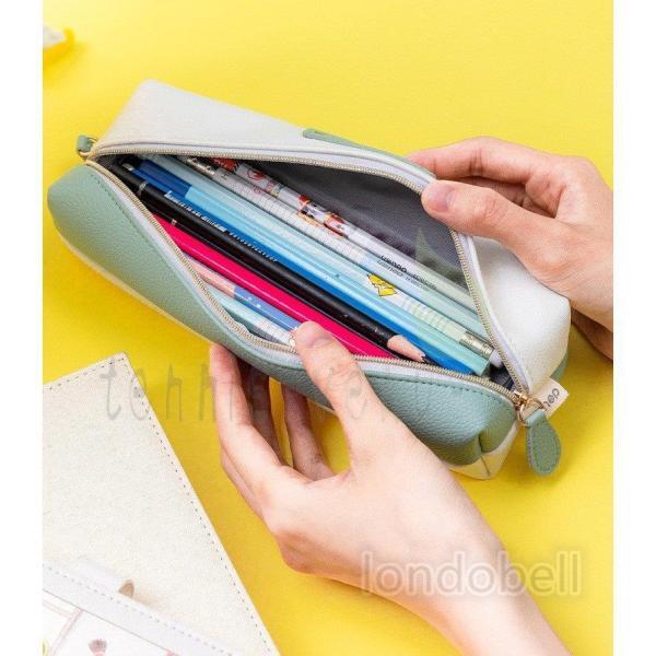 韓国 女子 人気 ペン入れ 筆箱 ペンケース 大容量 シンプル スタディプランナー ブランド 学校 文房具 筆記用具 中学生 小学生  高校生 プレゼント 入学祝い