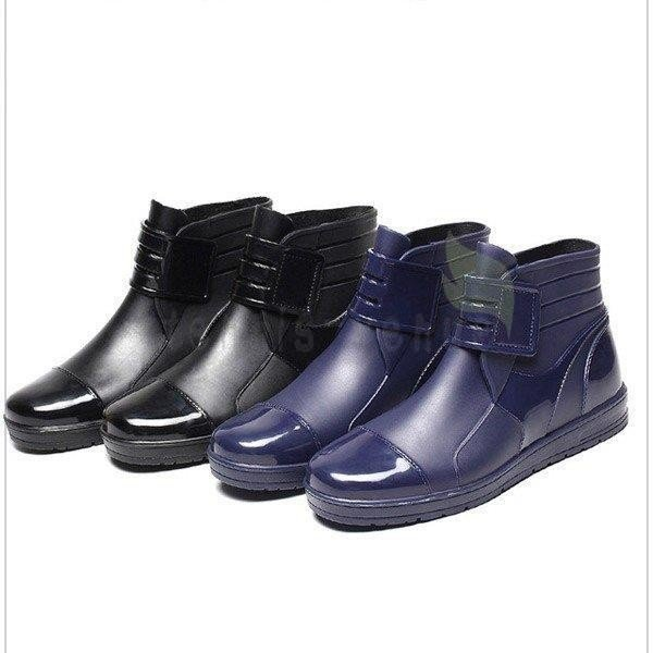 メンズ レインブーツ 作業靴 耐久 高品質 防滑 雨靴 釣り用雨靴 ショートレインブーツ 撥水 防水