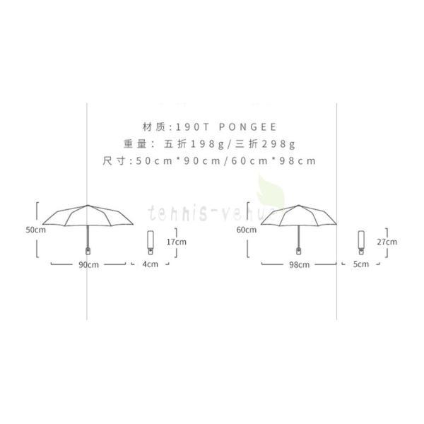折りたたみ傘 超軽量 メンズ レディース 折り畳み傘 軽量 コンパクト 丈夫 大きい おしゃれ 大人用 子供用 風に強い 耐風 撥水 晴雨兼用 収納ポーチ|tennis-venue|17