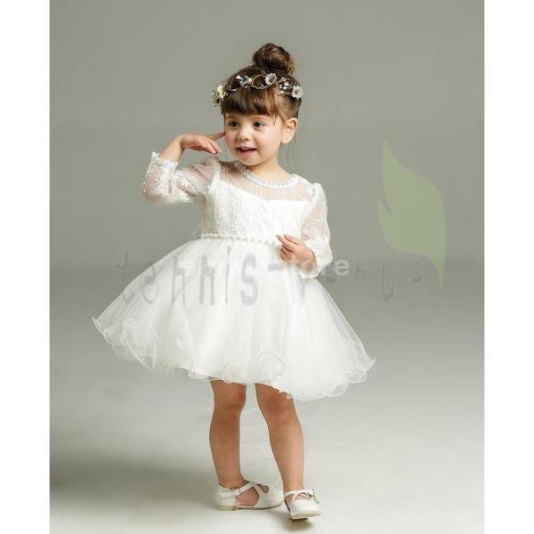 ベビードレス お宮参り用ベビードレス 女の子 結婚式 子供服 七五三 赤ちゃん ワンピース フォーマル 子ども ドレス