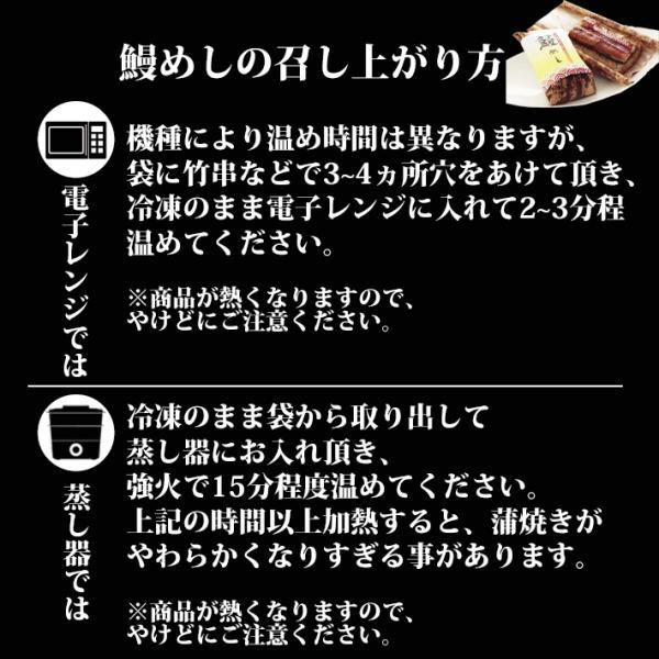 父の日ギフト プレゼント うなぎ 鰻 国産 蒲焼 おこわ 鰻めし 100g ての字|tenoji|08