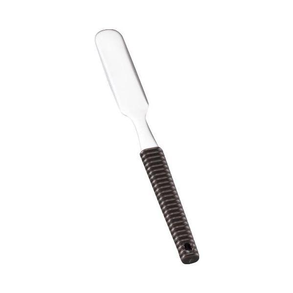 バターナイフ 18-8 味道楽 バターナイフ ブラウン 全長:160/業務用/新品