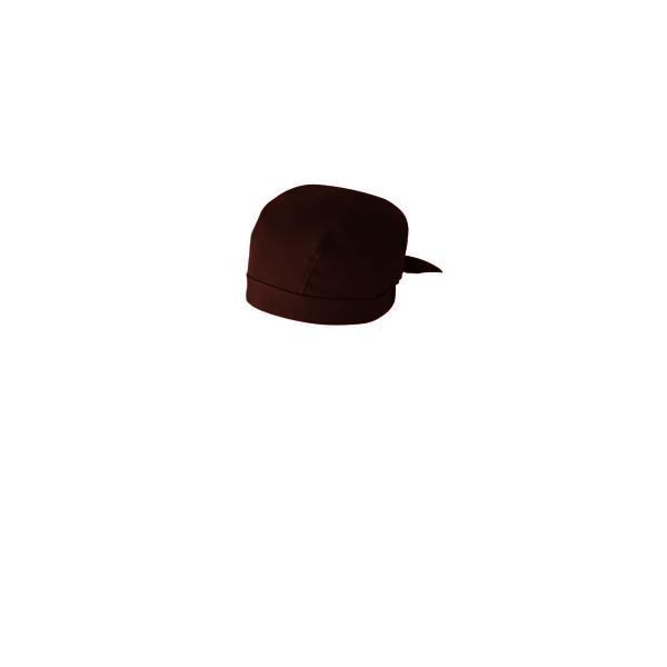 簡易バンダナ 兼用 9-263 (チョコレート) /業務用/新品/小物送料対象商品