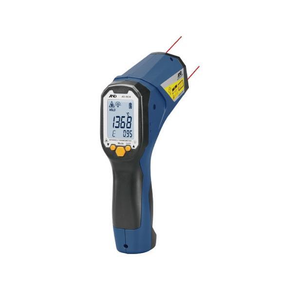 A&D レーザーマーカー付き赤外線放射温度計 AD-5634