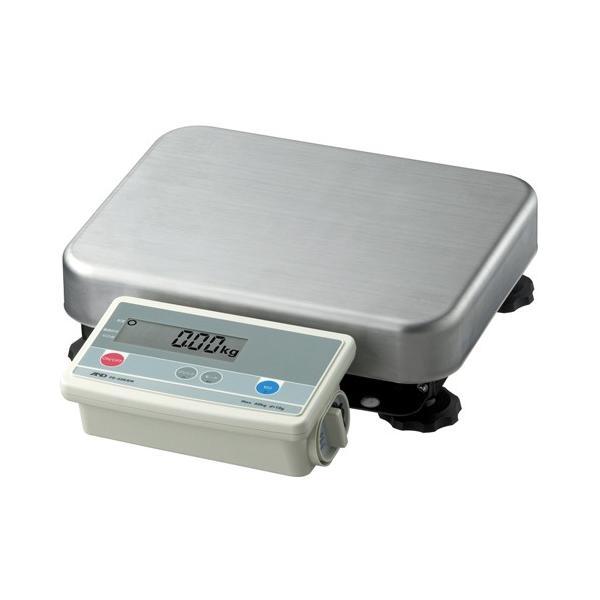 A&D 取引証明用 デジタル台はかり A&D FG-150KBM-K (検定付) 幅380mm×奥行464mm×高さ118mm ひょう量:150kg/業務用/新品