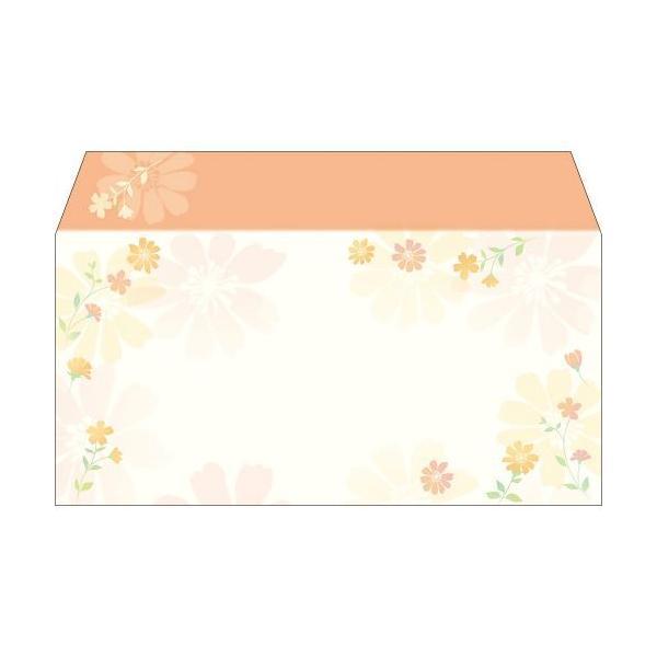 商品券袋 横封式 フラワリー/100枚×1箱/業務用/新品