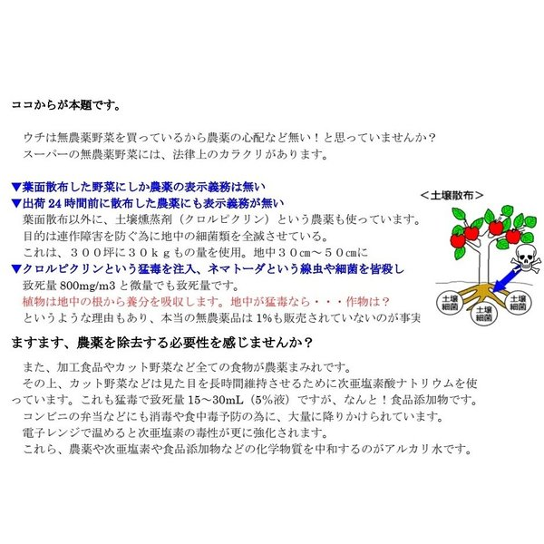 アルカリ洗浄液(100%天然アルカリ洗浄液)海水原料|tensay|04