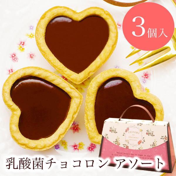 プチギフトお菓子退職引越個包装お礼/乳酸菌チョコロンアソート3個入