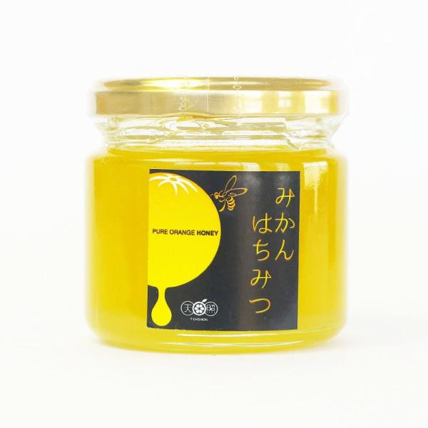 はちみつ 蜂蜜 国産純粋 150g みかん ハチミツ 和歌山県産