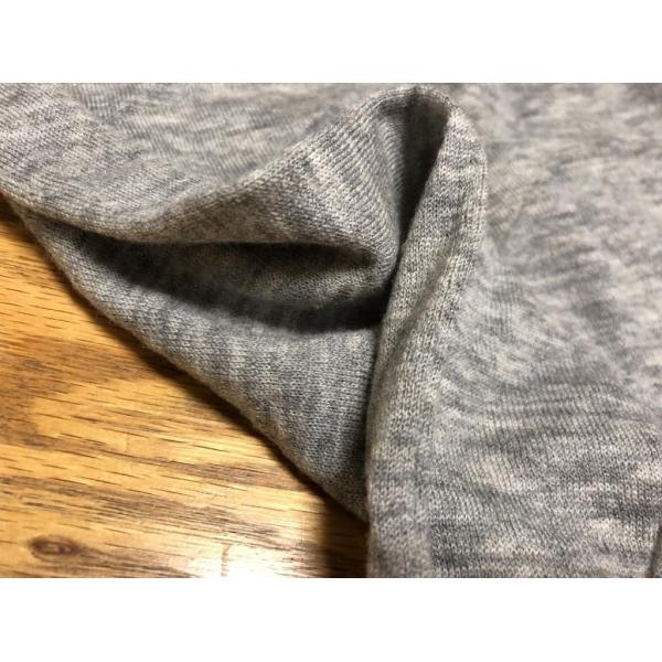 無印良品カシミヤ混半袖ニットグレーM|tentoumusi-recycle|05