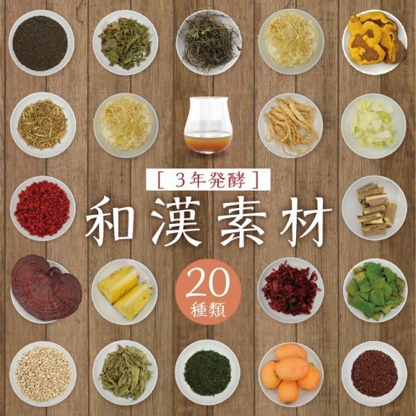 天山本草 スリム酵素 900ml 和漢 プレミアム ダイエット 酵素ドリンク 無添加 発酵飲料 自然 30日分 |tenzanhonso|05