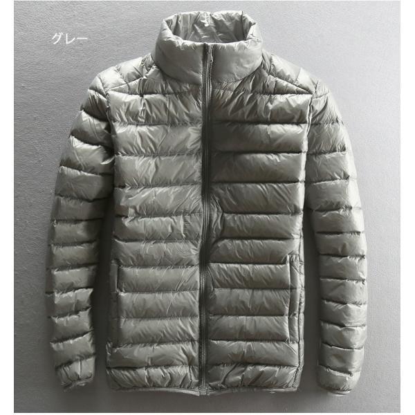 ダウンジャケット メンズ 軽めアウター ライトダウン 軽量 防寒 薄手 あったか 暖 ジャケット 大きいサイズ あたたか 2018 春セール|tenze|03