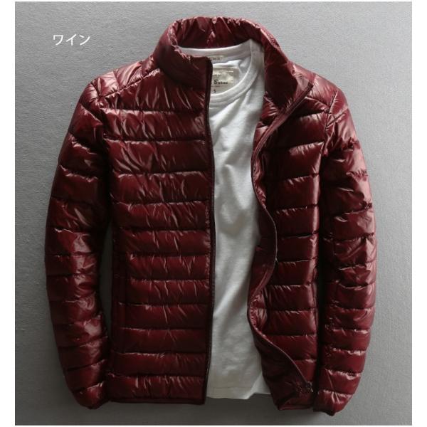ダウンジャケット メンズ 軽めアウター ライトダウン 軽量 防寒 薄手 あったか 暖 ジャケット 大きいサイズ あたたか 2018 春セール|tenze|06