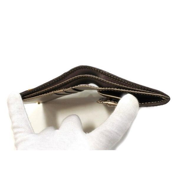 NINA RICCI ニナリッチ  財布 二つ折り ボックス小銭入れ  レディース 新品 ブロンズ box ギャルソン 四角|teradium-bag|06