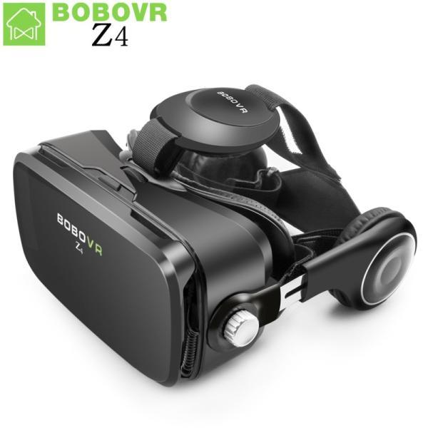 VRゴーグル 仮想現実 bobovr z4 vrボックス2.0 3dメガネボボvr google段ボールヘッドセット用4.3-6.0
