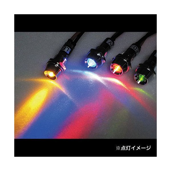 キジマ(KIJIMA) 217-6138 LEDインジケーターランプ クリア/ブルー|terranet|02